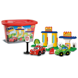 Unico Cars For Kids - Myjnia I Stacja Benzynow