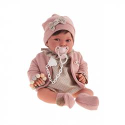 Antonio Juan 3306 PIPA - realistická panenka miminko s měkkým látkovým tělem - 40 cm