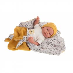 Antonio Juan 33113 NICO - realistická panenka miminko s měkkým látkovým tělem - 40 cm