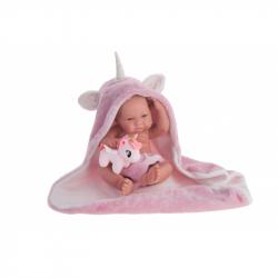 Antonio Juan 50086 NICA - realistická panenka miminko s celovinylovým tělem - 42 cm