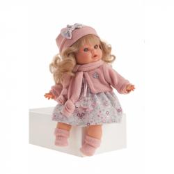 Antonio Juan 1340 DATO - realistická panenka se zvuky a měkkým látkovým tělem - 30 cm