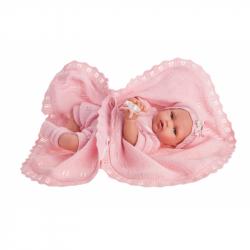 Antonio Juan 1789 PEKE - realistická panenka miminko se speciální pohybovou funkcí a měkkým látkovým tělem - 29 cm