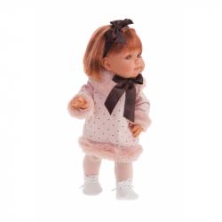 Antonio Juan 2268 FARITA - realistická panenka s celovinylovým tělem - 38 cm