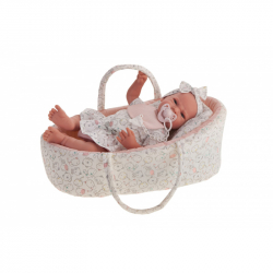 Antonio Juan 33115 LEA - realistická panenka miminko s měkkým látkovým tělem - 40 cm