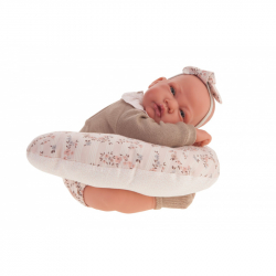 Antonio Juan 33116 NACIDA - realistická panenka miminko s měkkým látkovým tělem - 40 cm