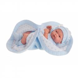 Antonio Juan 4069 PITU - realistická panenka miminko s celovinylovým tělem - 26 cm