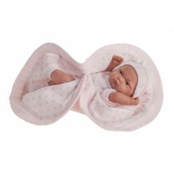 Antonio Juan 4070 PITU - realistická panenka miminko s celovinylovým tělem - 26 cm