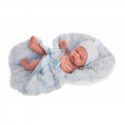 Antonio Juan 4073 LUNI - spící realistická panenka miminko s celovinylovým tělem - 26 cm