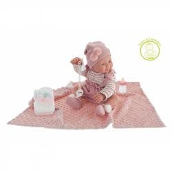Antonio Juan 50160  MIA - mrkací a čůrající realistická panenka miminko s celovinylovým tělem - 42 cm