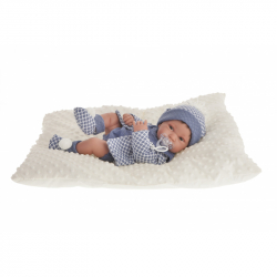 Antonio Juan 5035 PIPO - realistická panenka miminko s celovinylovým tělem - 42 cm