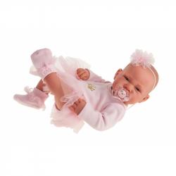 Antonio Juan 5085 BAILARINA -realistická panenka miminko s celovinylovým tělem - 42 cm