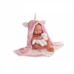 Antonio Juan 5086 NICA - realistická panenka miminko s celovinylovým tělem - 42 cm