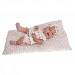 Antonio Juan 6028 CLARA - realistická panenka miminko s celovinylovým tělem - 33 cm