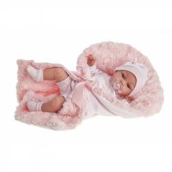 Antonio Juan 7030 TONETA - realistická panenka miminko se zvuky a měkkým látkovým tělem - 34 cm