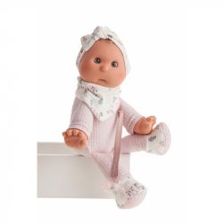 Antonio Juan 8301 Moje první panenka - miminko s měkkým látkovým tělem - 36 cm