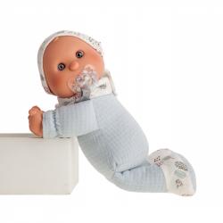 Antonio Juan 8302 Moje první panenka - miminko s měkkým látkovým tělem - 36 cm