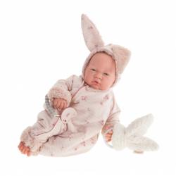Antonio Juan 80110 SWEET REBORN NACIDA - realistická panenka miminko s měkkým látkovým tělem - 40 cm