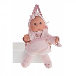 Antonio Juan 83104 Moje první panenka s klokankou - miminko s měkkým látkovým tělem - 36 cm