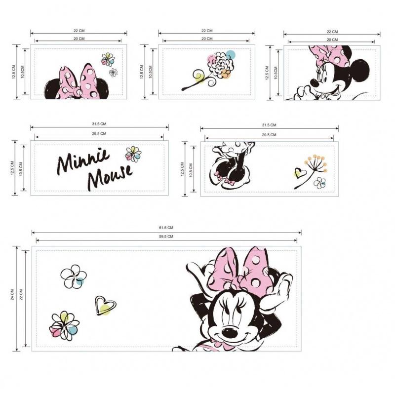 Organizér na hračky Minnie Mouse