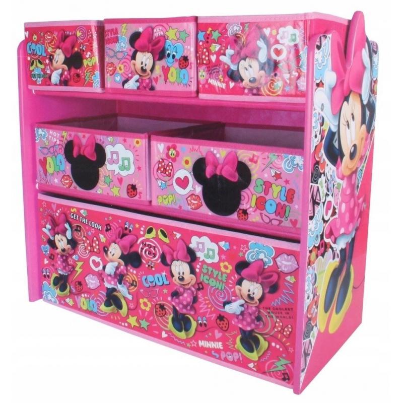 Organizér na hračky Myška Minnie - ružová