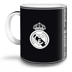 Hrnček Real Madrid black