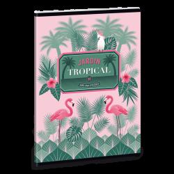 Ars Una Zošit pink flamingo A5 linajkový