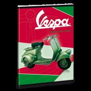 Ars Una Zošit Vespa A5 zeleno-červený