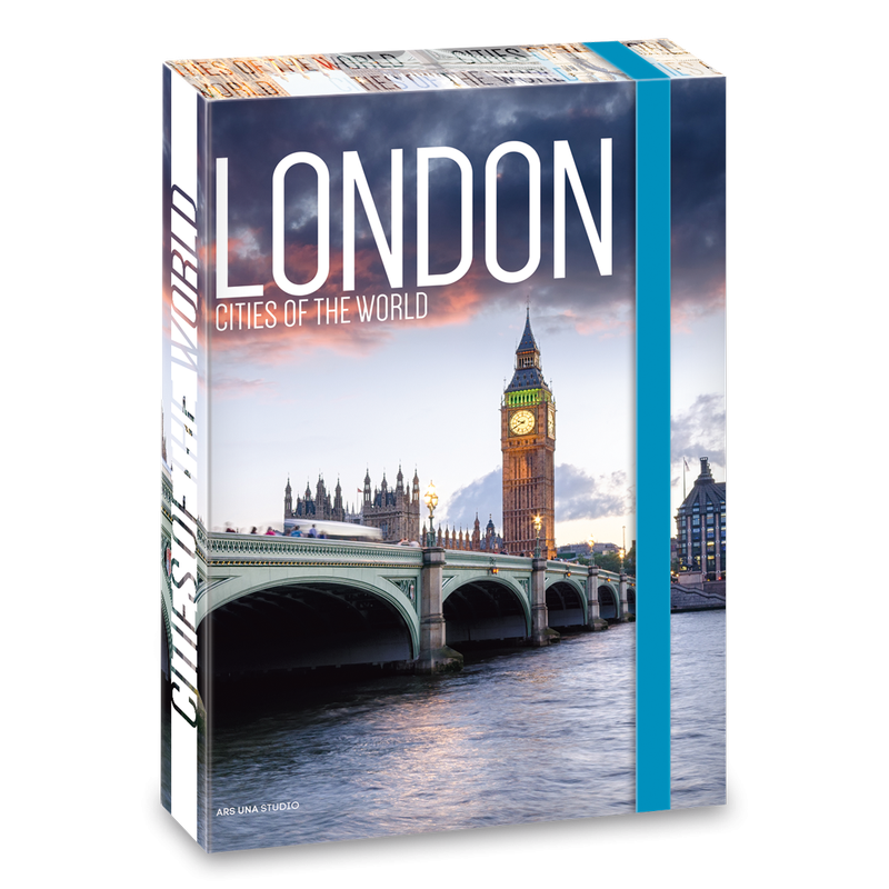 Box na zošity Londýn 19 A4