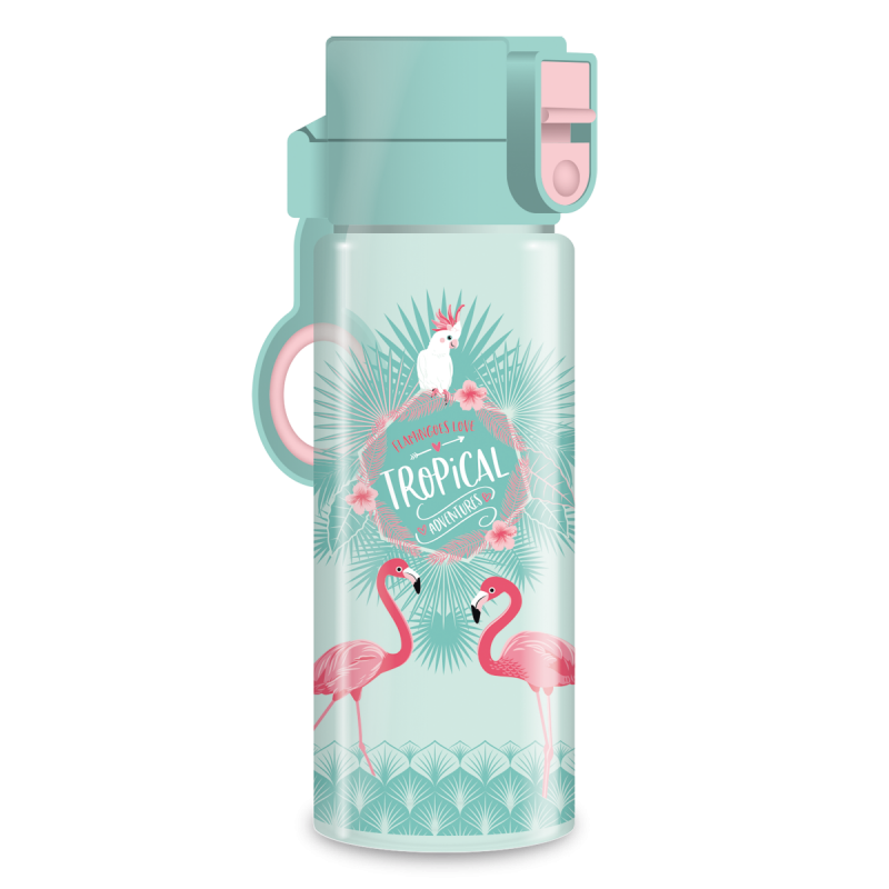 Ars Una Fľaša na pitie Pink Flamingo 475 ml