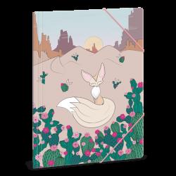Teczki na zeszyty Wonderful Desert A4