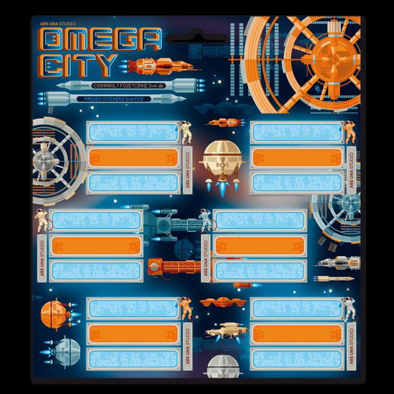 Ars Una Menovky na zošity Omega City