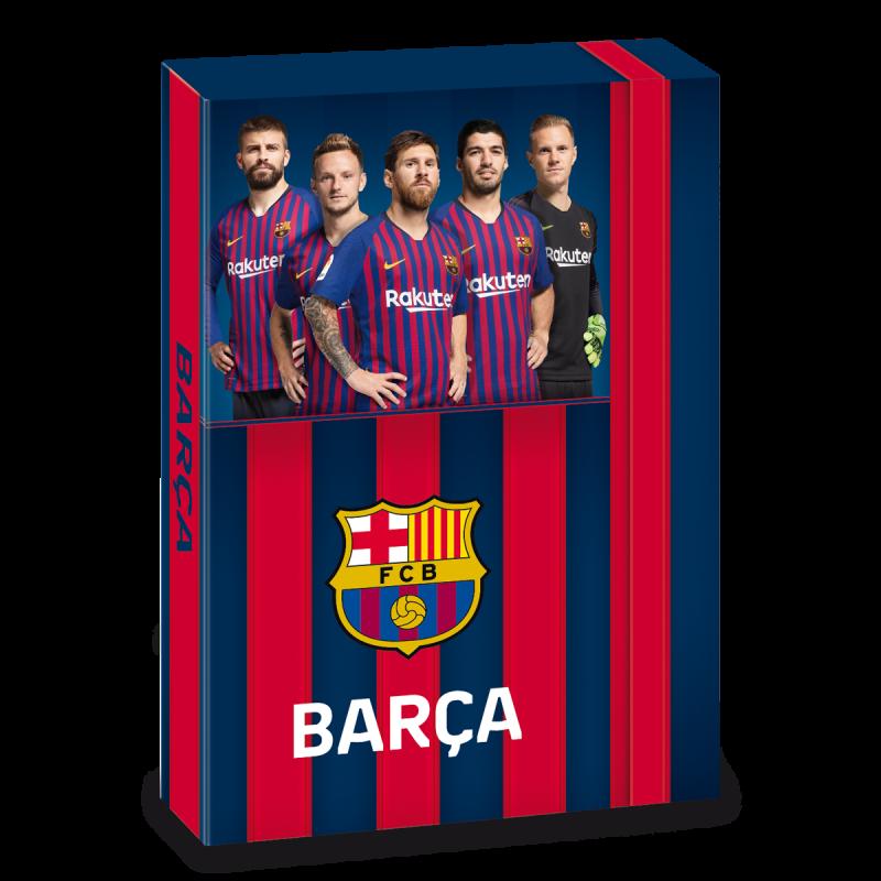 Box na zošity FC Barcelona 19 hráčmi A5