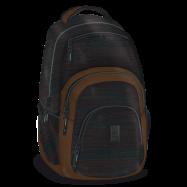 Studentský batoh Autonomy AU2 hnědý