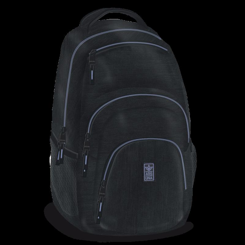 Studentský batoh Autonomy AU2 černo-fialový