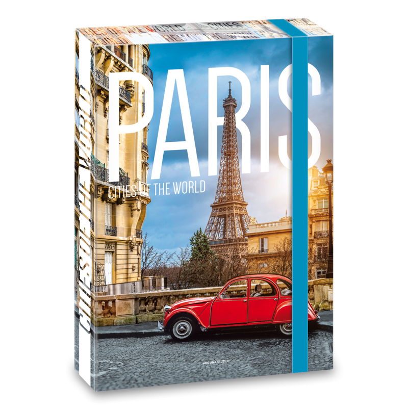 Box na sešity Paříž 19 A4