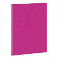 Linajkový zošit A5 trblietavý tm. ružový