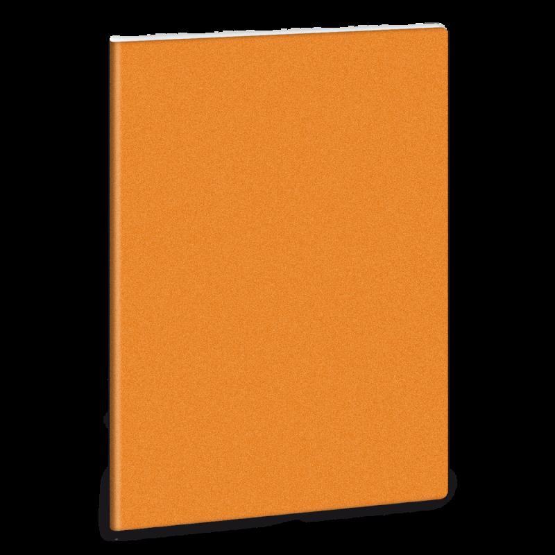 Linkovaný sešit A5 třpytivý oranžový