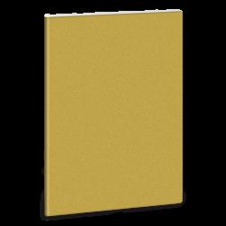 Linkovaný sešit A5 třpytivý zlatý