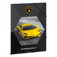 Složka na sešity Lamborghini A4 žluté