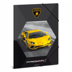 Zložka na zošity Lamborghini A4 žlté