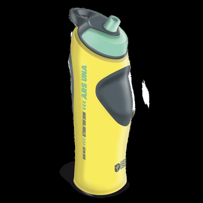 Športová fľaša 19 žltá 700ml