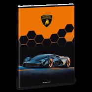Ars Una Sešit Lamborghini černé A4