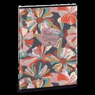 Ars Una Sešit květinová koláž A4