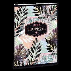 Notatnik Ars Una Tropical Leaf A5 w linie