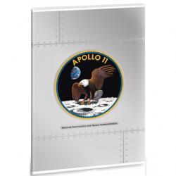 Ars Una zošit NASA A4 Apollo 11