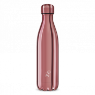 Ars Una Butelka termosowa metalowa różowa 500 ml