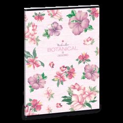 Ars Una Zošit Flowers A4 čistý
