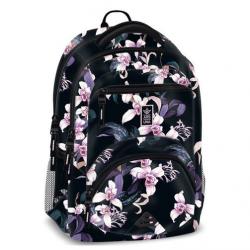 Ergonomický školní batoh Orchideje II
