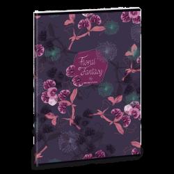 Zošit Floral Orchidea A4 čistý