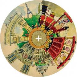 Arto City disk Okolo sveta - Paríž